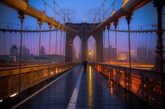 3 in NYC Photo of Brooklyn Bridge New York - John Fitzgerald Photography