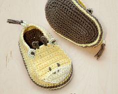 Modelo del ganchillo de los botines zapatos de bebé de la jirafa del bebé de la jirafa de bebés prematuros calcetines zapatos animales