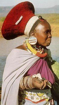 ISICHOLO traditional zulu's hat