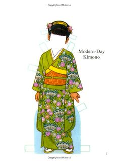 Little Japanese Girl Paper Doll (Dover Little Activity Books Paper Dolls): Tom Tierney: 9780486298948: Amazon.com: Books