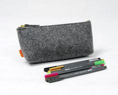 SML Size Available Simple Felt Pen Pencil Case Pouch by Filzkraft