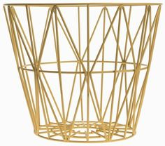 Wire - Container Ferm Living on YOOX. The best online selection of Containers Ferm Living. YOOX exclusive items of Italian and international designers - Secure payments Yellow Home Accessories, Yellow Home Decor, Office Accessories, Decorative Accessories, Large Wire Basket, Large Baskets, Modern Baskets, Square Baskets, Wooden Basket