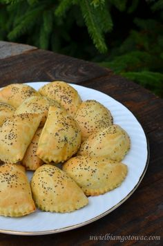 Christmas Appetizers, Polish Recipes, Dim Sum, Yummy Cookies, Dumplings, Dinner Tonight, Feta, Food Pictures, Finger Foods