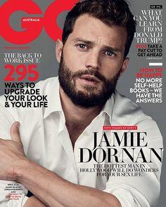 Jamie Dornan for GQ AUSTRALIA: FEBRUARY 2017 http://www.everythingjamiedornan.com/  http://www.everythingjamiedornan.com/gallery/thumbnails.php?album=429