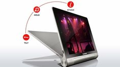 The Lenovo Yoga Tablet 8 and 10 inch Multi Mode tablet. Great!!