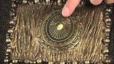 Artesanato - Técnica de couro Marroquino - Melhor com Você - 07/08 - YouTube