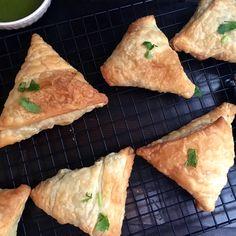Baked Broccoli Samosa