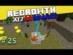 Regrowth ITA Minecraft Ep 25 - Strong infusion stone - #minecraftita