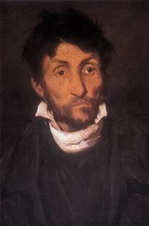 Portrait of a Kleptomaniac - Theodore Gericault STYLE: REALISM