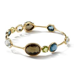 Ippolita Rock Candy Clear Quartz Large Gelato Bangle TD60nAXr2