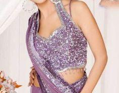 Halter neck Indian Blouses - MYLIFENSTYLE