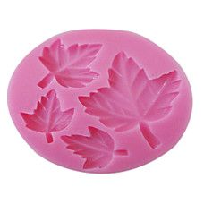 3D Leaf Patterned Silicone Mold
