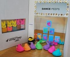 Love this! Dance Moms Peeps style!