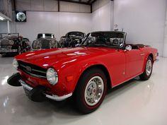 Triumph : TR-6 SHOW QUALITY CORRECT PIMENTO RED! in Triumph | eBay Motors
