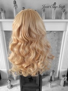 SLEEPING BEAUTY WIG Aurora Custom Made Wig Curly by JustOneStep