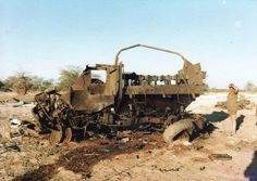 Bombed out SADF Buffel Armoured Personnel Carrier that signifies one of the heaviest days for the SADF, June South African Air Force, Army Day, Armoured Personnel Carrier, Defence Force, Tactical Survival, All Nature, Boat Design, African History, War Machine
