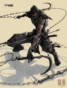 real photos of samurai and ninjas | Cool Ninja Drawings