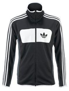 Felpa uomo adidas, full zip, con bande laterali. Prezzo: 90.00 € SHOP ONLINE: http://www.athletesworld.it/felpa-adidas-adidas-9196243