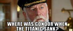 Where was Gondor???
