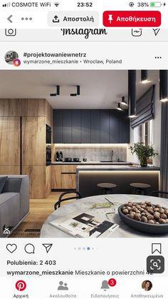 Modern Kitchen Paint, Kitchen Room Design, Kitchen Cabinet Design, Modern Kitchen Design, Home Decor Kitchen, Interior Design Kitchen, Home Kitchens, Cocinas Kitchen, Minimalist Kitchen