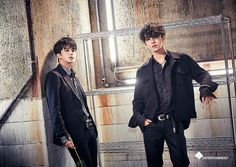Youngjae and Yongguk