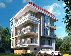Modern Exterior, Villa, Mansions, House Styles, Home Decor, Decoration Home, Manor Houses, Room Decor, Villas