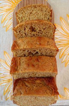 Vanilla Bean Bread - A sweet, moist, rich quick bread with the flavor of vanilla bean. Tastes like vanilla cake.