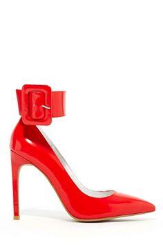 Jeffrey Campbell Leche Pump - Red
