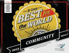 Sustainable Earth Solutions has been ranked one of the Best Businesses for the World, because of the work we do within the community!