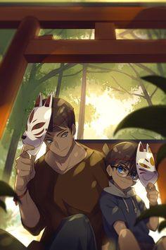 Detective, Dc Police, Kaito Kuroba, Gosho Aoyama, Amuro Tooru, Detektif Conan, Magic Kaito, Case Closed, Anime Ships