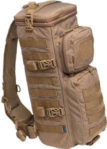 Evac PhotoRecon, Tactical Optics Sling Pack, Coyote