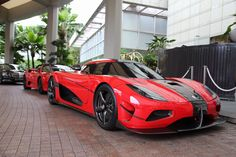 "therealcarguys: "" 1-of-25 Koenigsegg Agera RS in Singapore [1920x1280] - http://amzn.to/1bxGVMr """