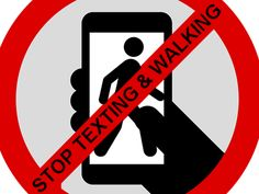 Texting and Walking: How dangerous can it truly be? -  http://www.zacharlawblog.com/2014/01/texting-and-walking-how-dangerous-can-it-truly-be-.html