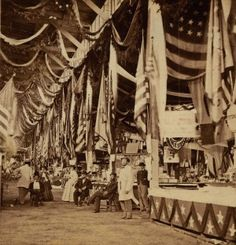 The Mississippi Valley Sanitary Fair in 1864 was the Western Sanitary Commission's biggest fund-raising event. The Western Sanitary Commission was established by General Frémont to provide relief for wounded soldiers, as well as citizens displaced by the war. The two-week, carnival-like affair served the dual purpose of providing a distraction to keep civilian morale high during a time of war and netting more than $550,000 to benefit the WSC's efforts. Missouri History Museum