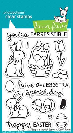 eggstra special easter | Lawn Fawn