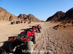 Quad Safari Excursions to the Sinai desert is a wonderful adventure that will give you opportunity to see Bedouin life as it is, amazing views of desert and mountains! For more visit www.mysecretlocation.net  #sinai #desert #egypt #sharmelsheikh #safari #amazing #beautiful #blogger #destination #instantravel #tbt #trip  #sunny #travel #travelblog #mysecretlocation #advanture #desert #quads
