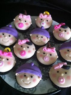 Baby Shower Cupcakes by Cake Appreciation Society Member The Cake Girl - See QLD Directory Listing at www.cakeappreciat...