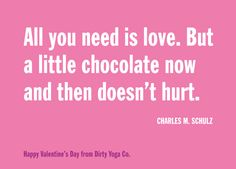 Happy Valentine's from Dirty Yoga Co.