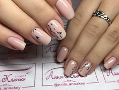 The wedding manicure - the beauty of the bride is in the smallest details Short Nail Manicure, Wedding Manicure, Nail Art Designs, Jolie Nail Art, Pink Ombre Nails, Nails 2017, Cat Nails, Spring Nail Art, Pretty Nail Art