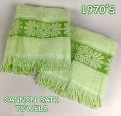 Cannon towels grandma Baer had these :) Grandma Margaret had similar too. And grandma Imojean would've been in blue. My Childhood Memories, Great Memories, School Memories, 80s Kids, I Remember When, Ol Days, Thing 1, My Memory, The Good Old Days