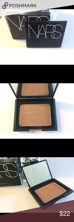 Nars Bronzing Powder in Laguna Laguna bronzing powder creates the ultimate natural looking glow that warms, enhances and sculpts.  Diffused powders with golden shimmer deliver all over warmth, enhancing the look of skin or amplifying a tan.  Product has been swatched a bit, but never used on face/body.  Price is reflective of condition, please see photos. NARS Makeup Bronzer