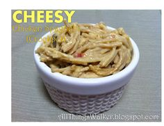 All Things Walker: Cheesy Crock Pot Chicken Spaghetti