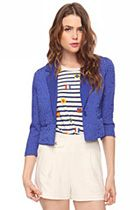 Heritage1981 gets this Matelassé textured blazer so, so right ($28.90)