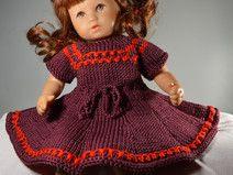 Puppenkleid für 32 cm Baby Puppe