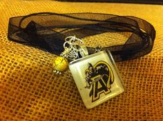 Army West Point Charm Necklace