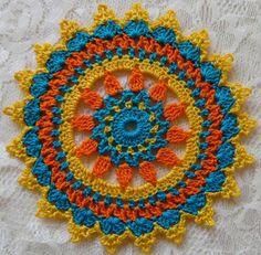 PDF Crochet Pattern- Mini Mandala Doilies different designs) - Reyna Rojas Martinez - PDF Crochet Pattern- Mini Mandala Doilies different designs) PDF Crochet Pattern Mini Mandala Doilies 12 different