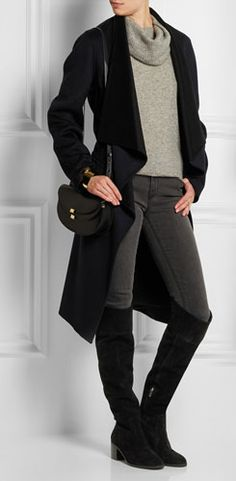 MICHAEL MICHAEL KORS Paulette Suede Over-the-knee Boots
