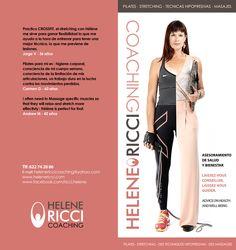 Helene Ricci Pilates, Crossfit, Design, Flexibility, Massage, Training, Design Comics, Cross Fitness