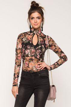 Gigi Floral Bodysuit Gigi Floral Bodysuit