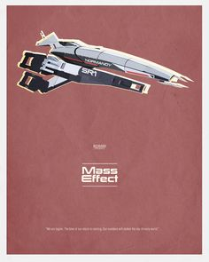 Mass Effect Art Print - Forever Will Be My Favorite Game/Series